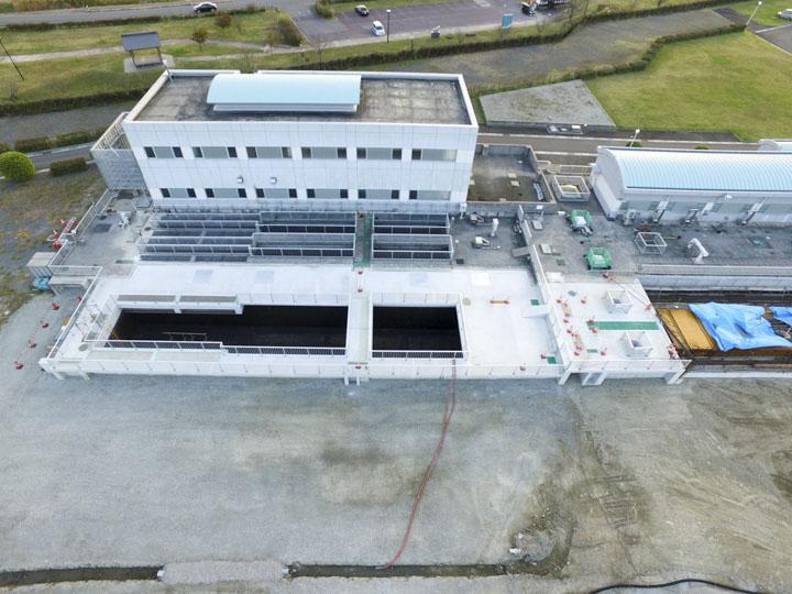 遠賀川中流流域下水道事業水処理施設第2系列築造(1工区)工事