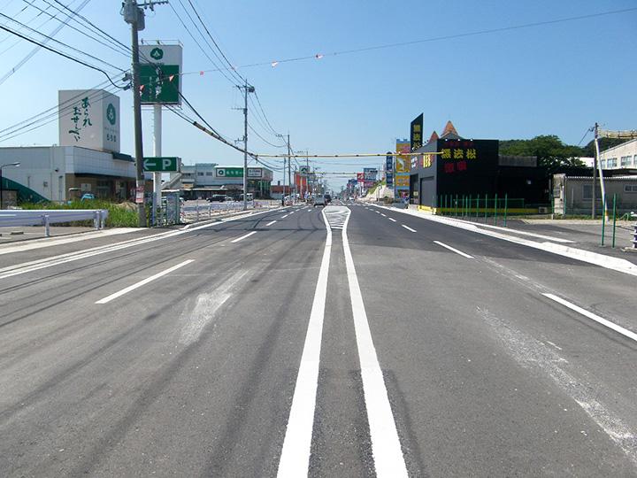 県道田川直方線道路補修工事(1工区)