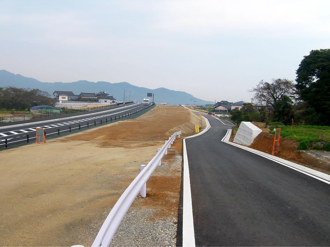 福岡201号吉国地区改良(3工区)工事