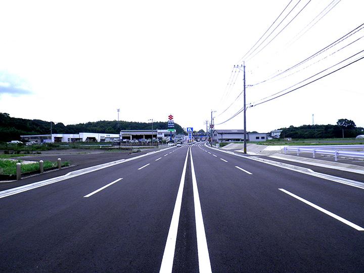 県道田川直方線道路補修工事(第2工区)